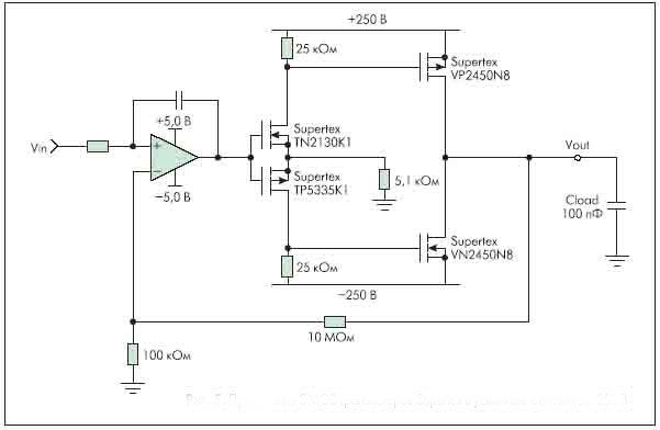 Применение DMOS транзисторов