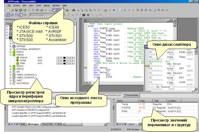 Рисунок 14 интерфейс интегрированной