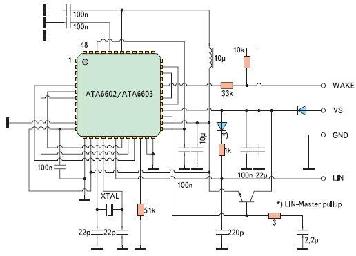 Схема включения контроллера